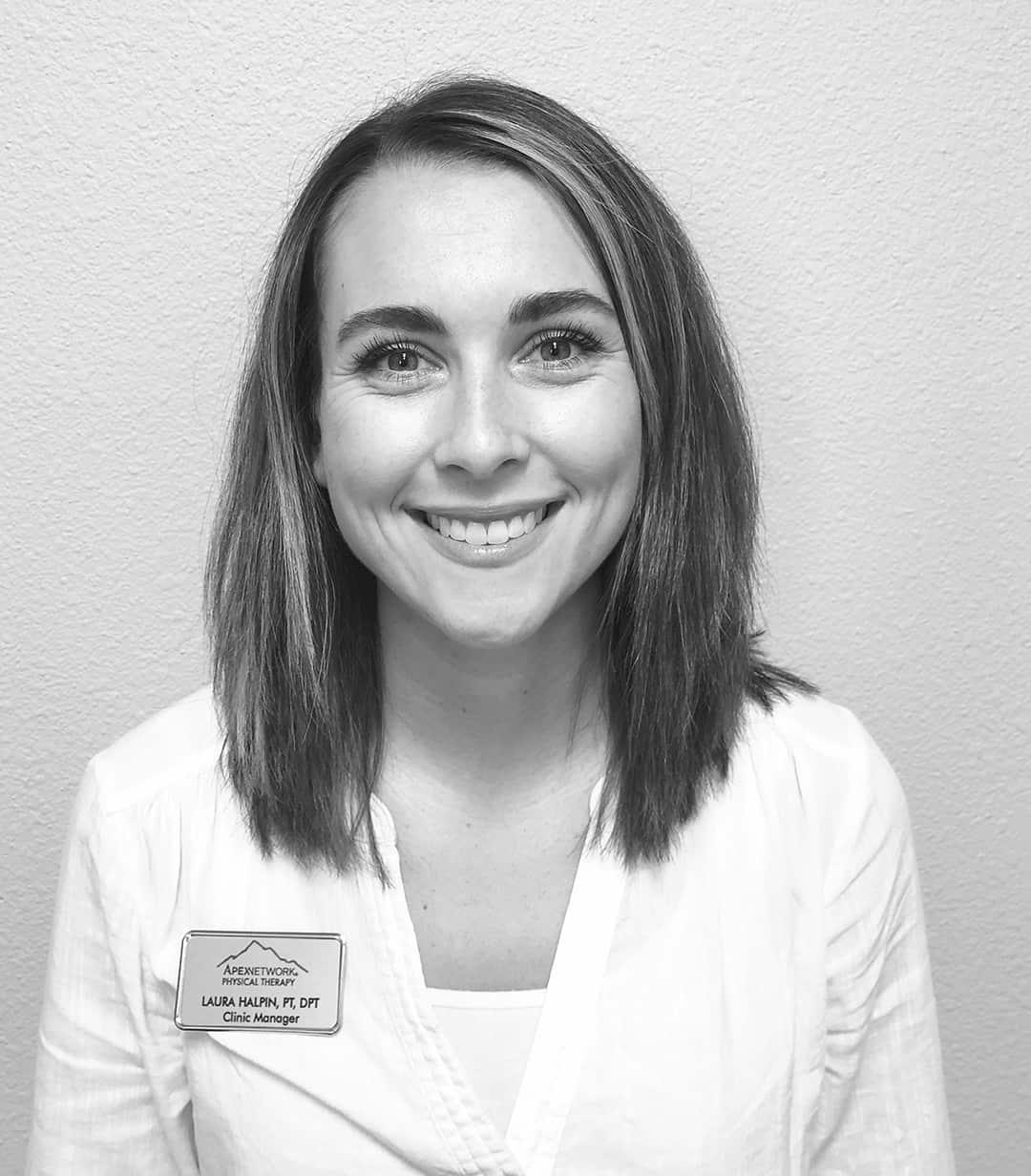 Laura Halpin, DPT, PT, Clinic Manager