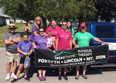 Forsyth, IL parade